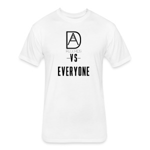 DAAM Records Vs Everyone (Logo Style) T-shirt - Fitted Cotton/Poly T-Shirt by Next Level