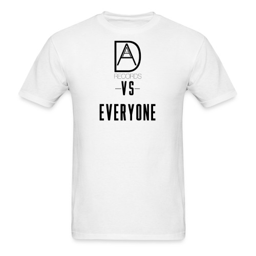 DAAM Records Vs Everyone (Logo Style) T-shirt - Men's T-Shirt