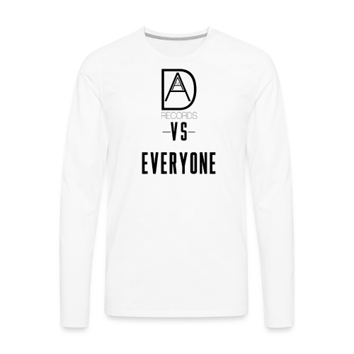 DAAM Records Vs Everyone (Logo Style) T-shirt - Men's Premium Long Sleeve T-Shirt
