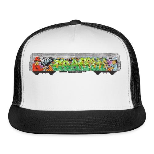 One - Design for New York Graffiti Color Logo - Trucker Cap
