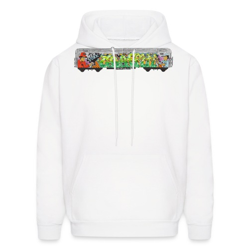 One - Design for New York Graffiti Color Logo - Men's Hoodie