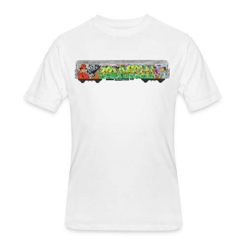 One - Design for New York Graffiti Color Logo - Men's 50/50 T-Shirt