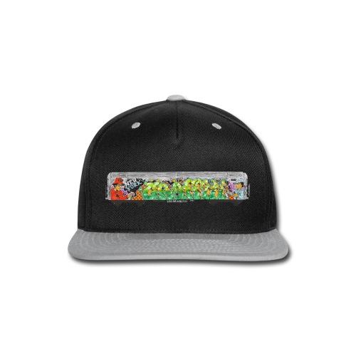 One - Design for New York Graffiti Color Logo - Snap-back Baseball Cap
