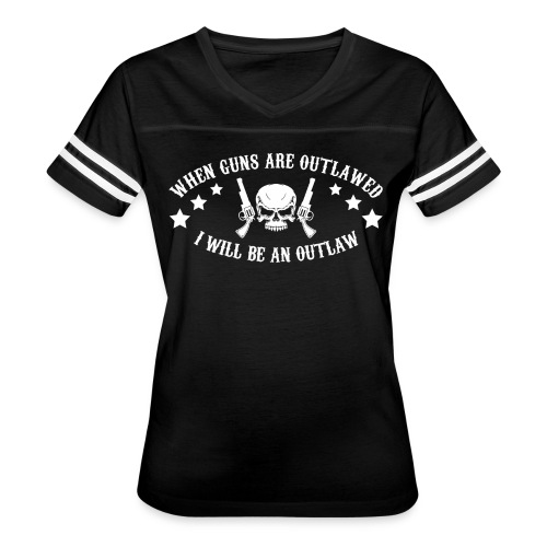 I Will Be An Outlaw - Women's Vintage Sport T-Shirt
