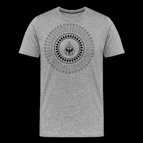 Men's 'Rain Circle' T-Shirt - Men's Premium T-Shirt