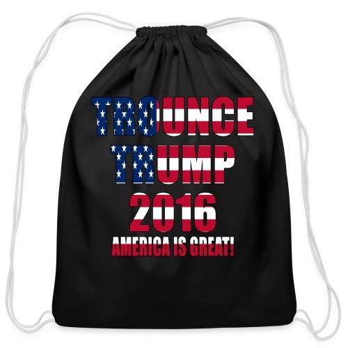 Trounce Trump 2016 - Cotton Drawstring Bag