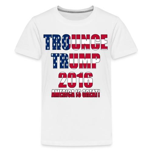 Trounce Trump 2016 - Kids' Premium T-Shirt