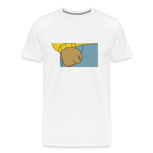 fists of fury - Men's Premium T-Shirt