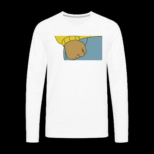 fists of fury - Men's Premium Long Sleeve T-Shirt