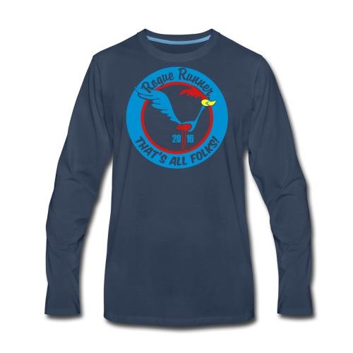 UNISEX TIE DYE TSHIRT - Men's Premium Long Sleeve T-Shirt