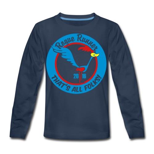 UNISEX TIE DYE TSHIRT - Kids' Premium Long Sleeve T-Shirt
