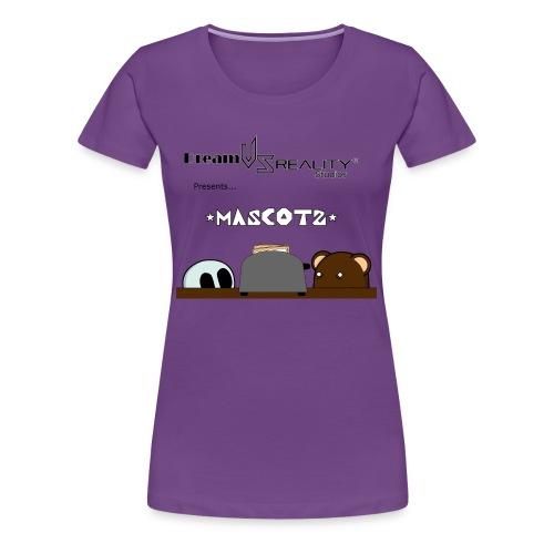 DvR Mascots: Curiosity - Womens - Women's Premium T-Shirt