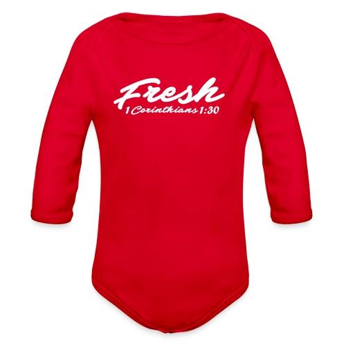 Fresh T-shirt - Organic Long Sleeve Baby Bodysuit