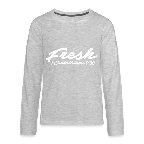 Fresh T-shirt - Kids' Premium Long Sleeve T-Shirt