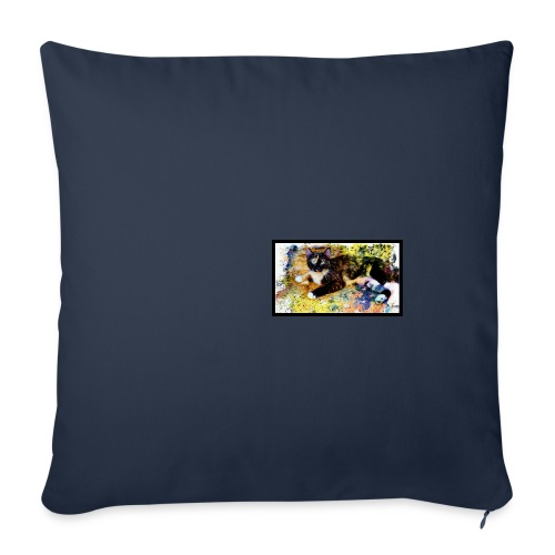 Scarlett Impressions full-color panoramic mug - Throw Pillow Cover