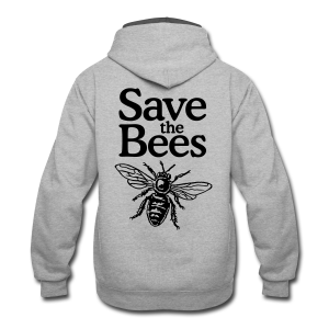 Save the Bees S-5X T-Shirt - Contrast Hoodie