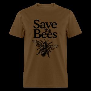 Save the Bees S-5X T-Shirt - Men's T-Shirt