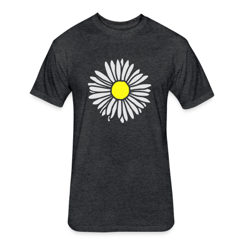 Daisy (bicolor) S-3X T-Shirt - Fitted Cotton/Poly T-Shirt by Next Level