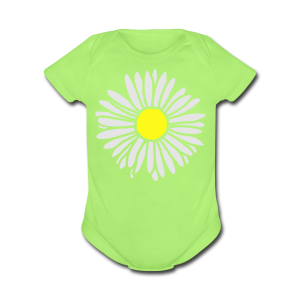 Daisy (bicolor) S-3X T-Shirt - Short Sleeve Baby Bodysuit