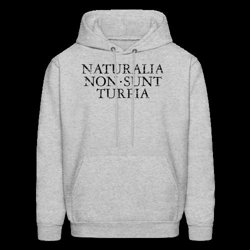 Naturalia Non Sunt Turpia (Vintage Black) S-5X T-Shirt - Men's Hoodie