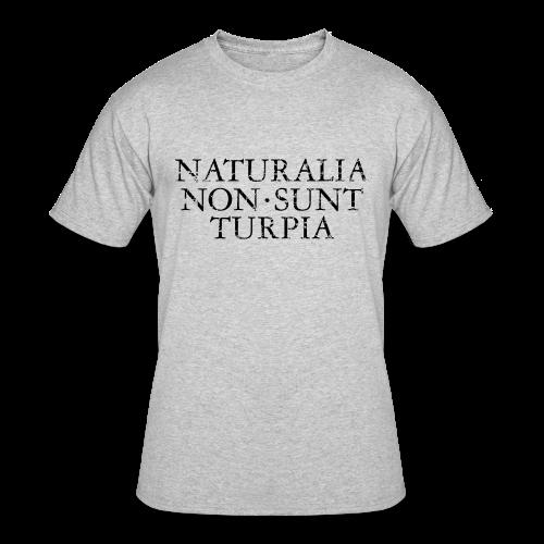 Naturalia Non Sunt Turpia (Vintage Black) S-5X T-Shirt - Men's 50/50 T-Shirt