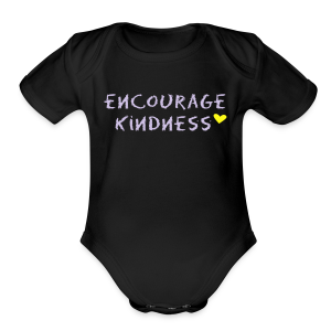 Encourage Kindness - Short Sleeve Baby Bodysuit