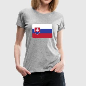 SLOVAKIA IS THE NUMBER 1 Hoodies - Women's Premium T-Shirt