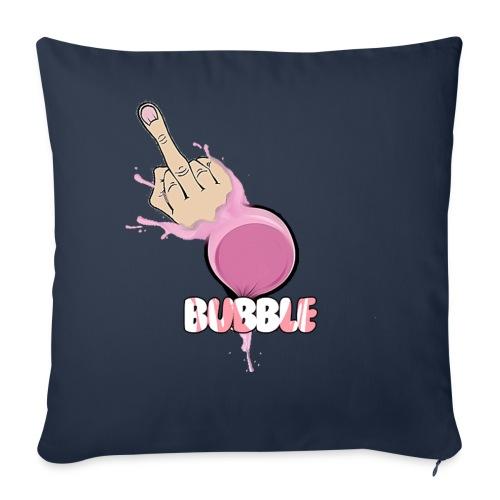 Bubble Fck #1 - Throw Pillow Cover