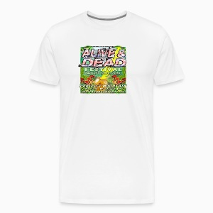 Alive & Dead Fest Team T - Men's Premium T-Shirt