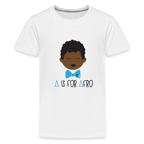 A is for Afro Tshirt - Toddler - Kids' Premium T-Shirt