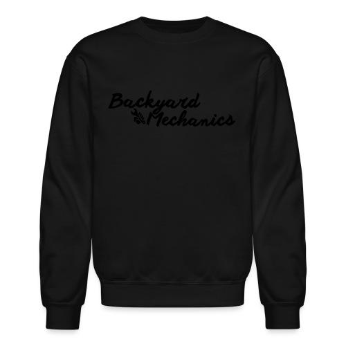 kids hoodie cursive gold - Crewneck Sweatshirt