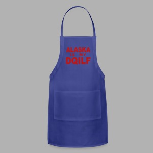 Alaska is my DQILF Women's T-Shirt by American Apparel - Adjustable Apron