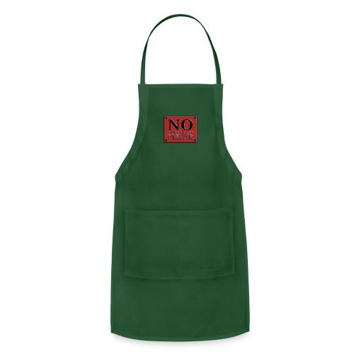 no more silent - Adjustable Apron
