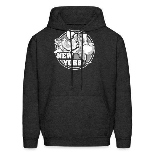 I NEW YORK LOVE - Men's Hoodie