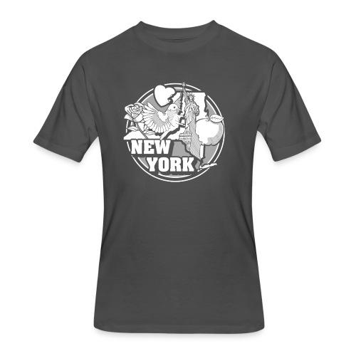 I NEW YORK LOVE - Men's 50/50 T-Shirt