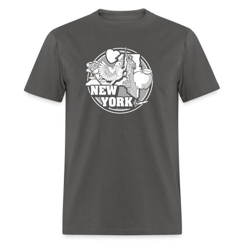 I NEW YORK LOVE - Men's T-Shirt