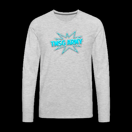 TMSG ARMY Tank - Men's Premium Long Sleeve T-Shirt