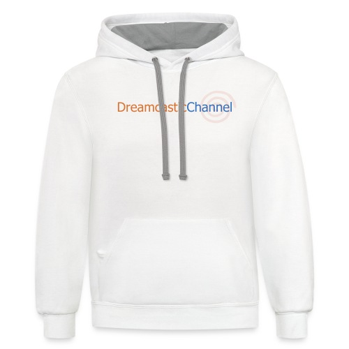 DreamcasticChannel T-Shirt (Men's) - Contrast Hoodie
