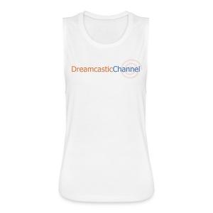 DreamcasticChannel T-Shirt (Men's) - Women's Flowy Muscle Tank by Bella