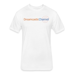 DreamcasticChannel T-Shirt (Men's) - Fitted Cotton/Poly T-Shirt by Next Level