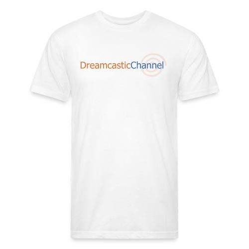 DreamcasticChannel T-Shirt (Men's) - Fitted Cotton/Poly T-Shirt by Next Level