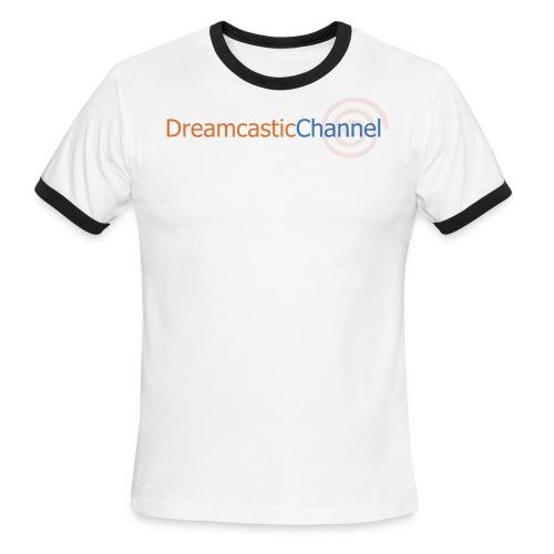 DreamcasticChannel T-Shirt (Men's) - Men's Ringer T-Shirt