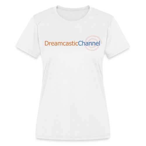 DreamcasticChannel T-Shirt (Men's) - Women's Moisture Wicking Performance T-Shirt
