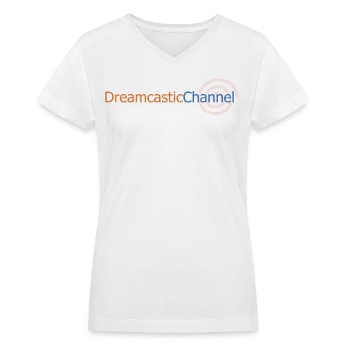 DreamcasticChannel T-Shirt (Men's) - Women's V-Neck T-Shirt