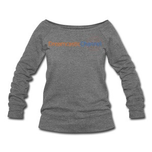 DreamcasticChannel T-Shirt (Men's) - Women's Wideneck Sweatshirt