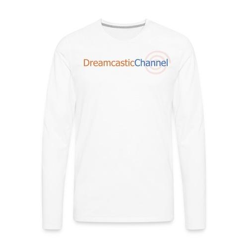 DreamcasticChannel T-Shirt (Men's) - Men's Premium Long Sleeve T-Shirt
