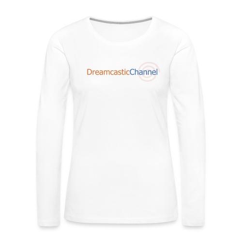 DreamcasticChannel T-Shirt (Men's) - Women's Premium Long Sleeve T-Shirt