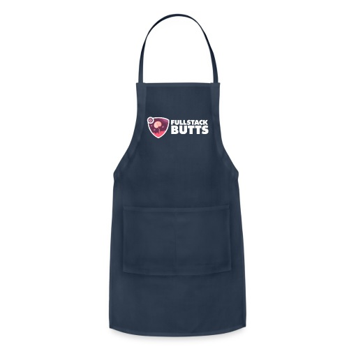 fs butts text - Adjustable Apron