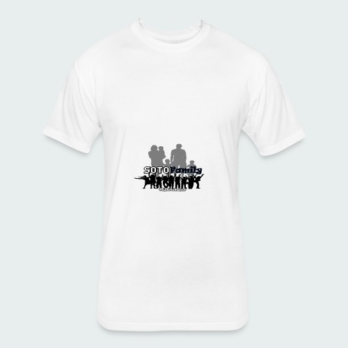 Soto Family - Fitted Cotton/Poly T-Shirt by Next Level