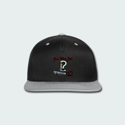 Guess What... - Snap-back Baseball Cap